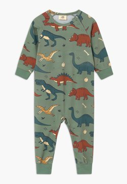 Walkiddy - FUNNY DINOSAURS BABY - Pyjama - green