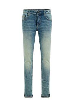 WE Fashion - Slim fit -farkut - blue