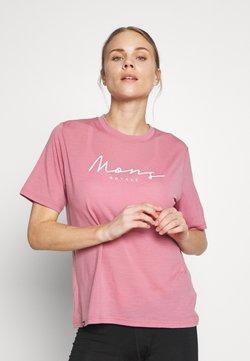 Mons Royale - SUKI TEE - T-Shirt print - dusty pink