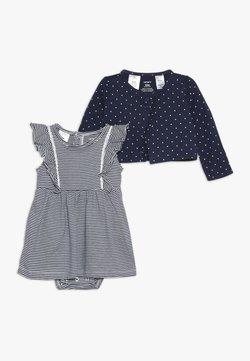 Carter's - BODYSUIT DRESS BABY SET - Chaqueta de punto - blue