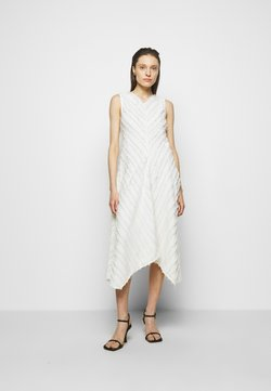 Proenza Schouler White Label - FRINGE FIL COUPE DRESS - Cocktail dress / Party dress - cream