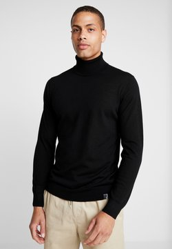 INDICODE JEANS - KERWI MERINO  - Pullover - black