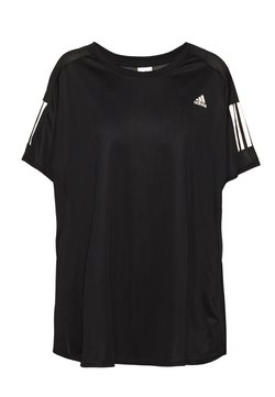 adidas Performance - OWN THE RUN TEE - T-Shirt print - black