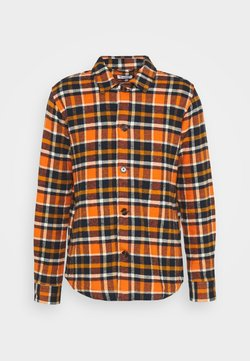 Knowledge Cotton Apparel - CHECKED OVERSHIRT - Camicia - total eclipse