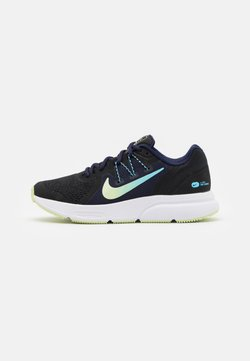Nike Performance - ZOOM SPAN 3 FAIRMONT - Zapatillas de running neutras - black/light liquid lime/blackened blue