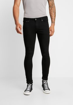 Jack & Jones - JJILIAM JJORIGINAL  - Slim fit -farkut - black