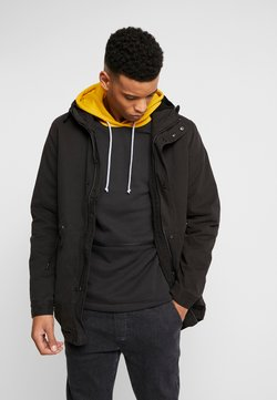 Cotton On - UNISEX HOODED PARKA - Parka - black