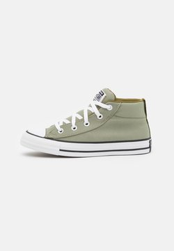 Converse - CHUCK TAYLOR ALL STAR STREET MID UNISEX - Korkeavartiset tennarit - light field/dark soba/white