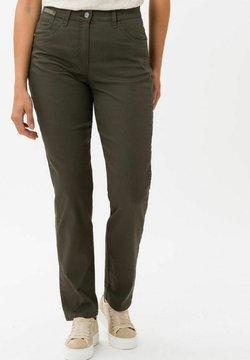 BRAX - CORRY NEW - Slim fit jeans - olive
