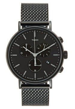 Timex - FAIRFIELD CHRONOGRAPH 41 mm MESH - Montre à aiguilles - black/black