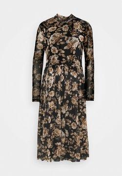 Vila - VILOMASI MIDI DRESS - Day dress - black