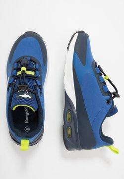 KangaROOS - KX-HYDRO - Sneakers laag - dark navy/lime