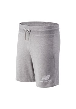 New Balance - ESSENTIALS STACKED  - Shorts - athletic grey