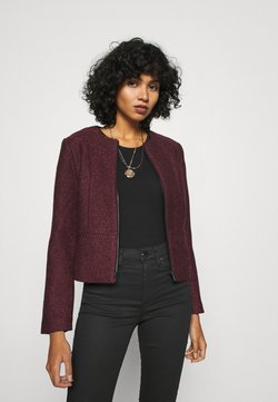 ONLY - ONLTIPPIE MAYA SHORT ZIP JACKET - Blazer - port royale/black