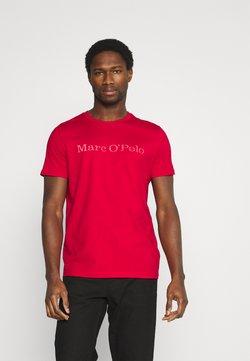 Marc O'Polo - SHORT SLEEVE - T-Shirt print - scarlet