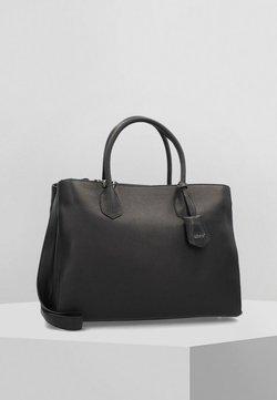 Abro - ADRIA - Shopping Bag - black/nickel
