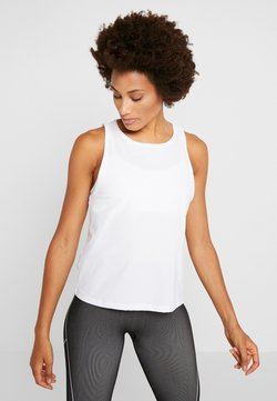 Casall - VISION SILKY MUSCLE TANK - Top - white