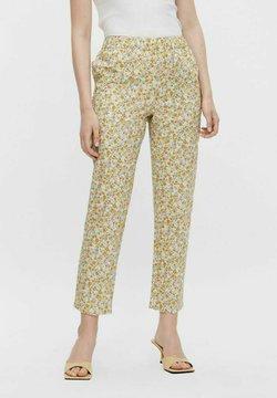 Pieces - Pantalon classique - yellow