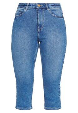 PIECES Tall - PCMACY KNICKERS BOX - Skinny-Farkut - medium blue denim