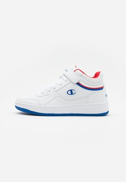 Champion - MID CUT SHOE REBOUND VINTAGE - Zapatillas de baloncesto - white/royal blue/red