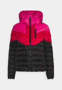 Superdry - COLOUR BLOCK FUJI - Winterjacke - pink/black