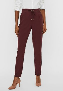 Vero Moda - Spodnie materiałowe - port royale