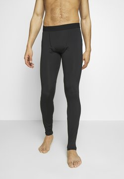 Jack & Jones - JCOZRUNNING - Tights - black
