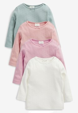 Next - 4 PACK POINTELLE - Langarmshirt - multi-coloured