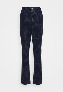 Missguided Tall - TIE DYE WRATH - Trousers - deep blue