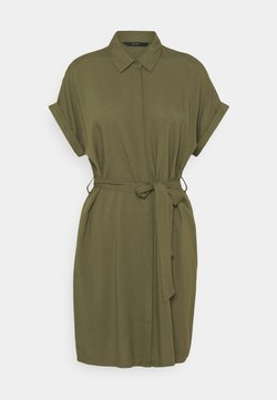 Vero Moda - VMSIMPLY EASY SHIRT DRESS - Sukienka koszulowa - ivy green