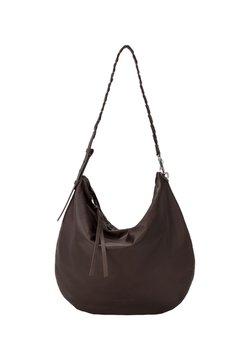 Liebeskind Berlin - HOBO BAG AUS SOFTLEDER - Shopping Bag - dark brown