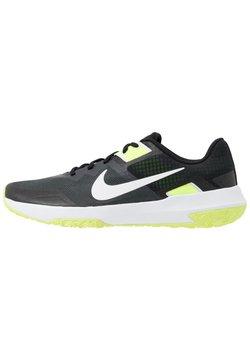 Nike Performance - VARSITY COMPETE TR 3 - Sports shoes - dark smoke grey/white/black/volt