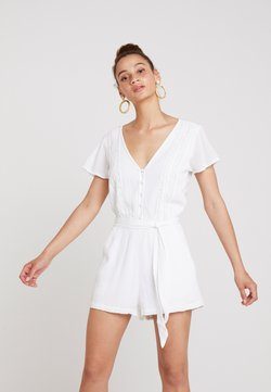 Abercrombie & Fitch - CHASE PIECE ROMPER - Combinaison - white