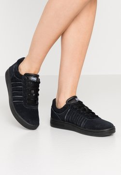 K-SWISS - COURT CHESWICK  - Sneakers laag - black/charcoal