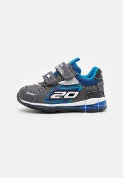 Geox - DISNEY CARS STORM GEOX BABY TODO BOY - Sneaker low - anthracite/black