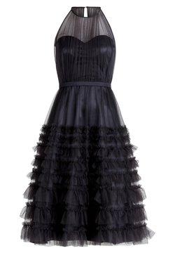 Vera Mont - MIT RÜSCHEN - Cocktailkleid/festliches Kleid - dunkelgrau