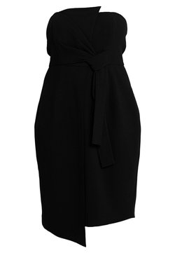 City Chic - EXCLUSIVE DRESS ORIGAMI - Cocktail dress / Party dress - black
