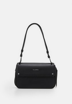 KARL LAGERFELD - IKON SHOULDERBAG - Torebka - black