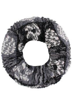 USHA Accessories - Snood - schwarz/rot
