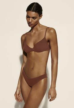 Massimo Dutti - Bikinitop - brown