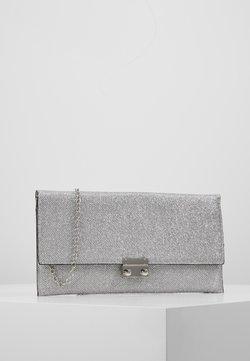 New Look - MIRRI GLITTER - Pikkulaukku - silver