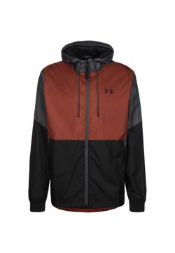Under Armour - FIELD HOUSE - Windbreaker - cinna red / black