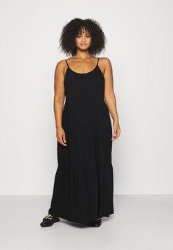 NU-IN - CAMI STRAP TIERED DRESS - Vestido largo - black