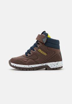 Kappa - LITHIUM UNISEX - Chaussures de marche - brown/navy