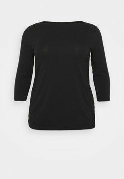 Mamalicious Curve - MLELNORA 3/4 - Camiseta de manga larga - black
