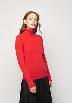 FTC Cashmere - ROLLNECK - Strickpullover - cayenne