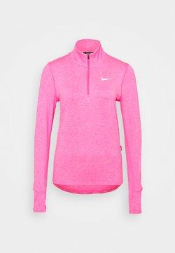 Nike Performance - ELEMENT - Funktionsshirt - hyper pink/pink glow/silver