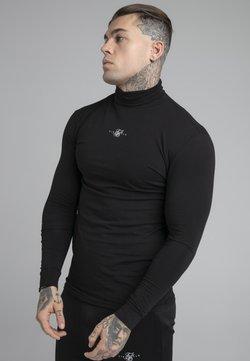 SIKSILK - SIKSILK TRANQUIL TURTLE NECK TEE - Langærmede T-shirts - black