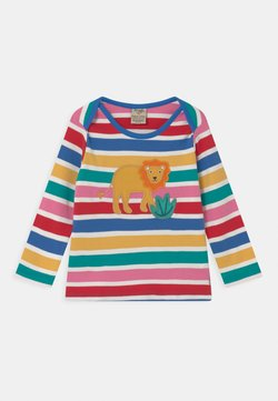Frugi - BOBBY APPLIQUE LION UNISEX - Camiseta de manga larga - multi-coloured