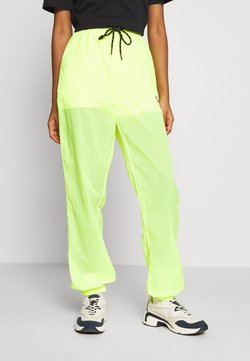Ellesse - LA QUITANA X SMILEY - Jogginghose - neon yellow